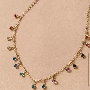 NEW Dainty Handmade Bohemian Gold Charm Necklace